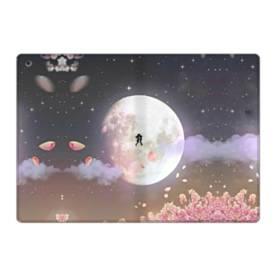 爛漫・夜桜&私たち iPad 9.7 (2017) 合皮 手帳型ケース