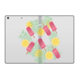 アイスバー&レモン iPad 9.7 (2017) 合皮 手帳型ケース