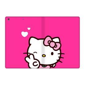 永遠に可愛い!キティちゃん iPad 9.7 (2017) 合皮 手帳型ケース