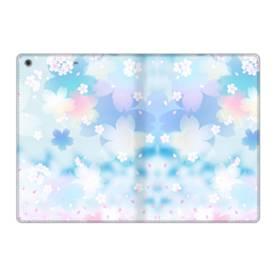 爛漫桜の花 iPad 9.7 (2017) 合皮 手帳型ケース
