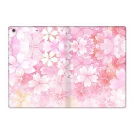 爛漫・ピンク&桜色 iPad 9.7 (2017) 合皮 手帳型ケース