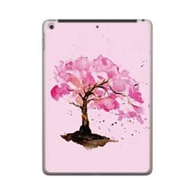 水彩画・桜の木 iPad 9.7 (2018) ポリカーボネート ハードケース