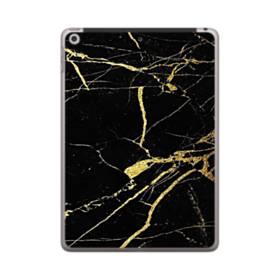 ゴールド ブラック   マーブル iPad 9.7 (2018) ポリカーボネート ハードケース
