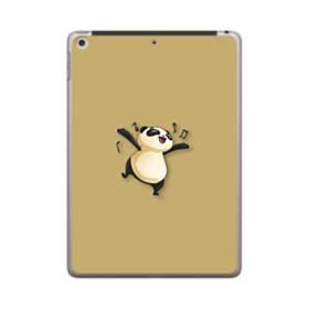 楽しそう・パンダ iPad 9.7 (2018) ポリカーボネート ハードケース