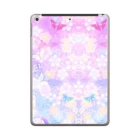 爛漫・抽象的な桜の花 iPad 9.7 (2018) ポリカーボネート ハードケース