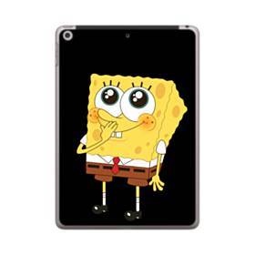 可愛いスポンジボブ iPad 9.7 (2018) ポリカーボネート ハードケース