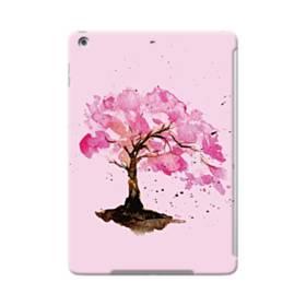 水彩画・桜の木 iPad Air ポリカーボネート ハードケース