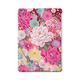 和の花柄:牡丹 iPad Air ポリカーボネート ハードケース