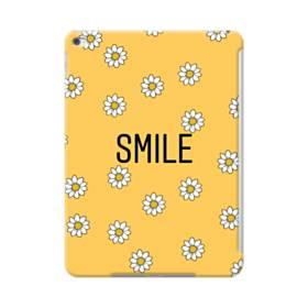 キュートな花のモチーフ&デザイン アルファベット スマイル iPad Air 2 ポリカーボネート ハードケース