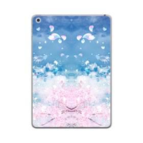 桜の花びら iPad mini (2019) TPU クリアケース