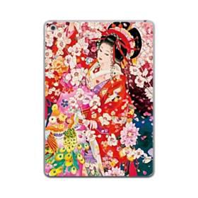 和・花魁&桜 iPad mini (2019) TPU クリアケース
