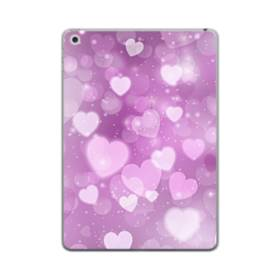 爛漫・ハート柄 iPad mini (2019) TPU クリアケース