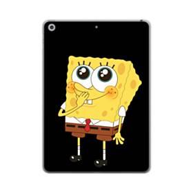 可愛いスポンジボブ iPad mini (2019) TPU クリアケース