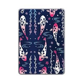 和柄:桜&錦鯉 iPad mini (2019) TPU クリアケース