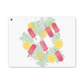 アイスバー&レモン iPad mini (2019) 合皮 手帳型ケース