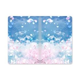 桜の花びら iPad mini (2019) 合皮 手帳型ケース