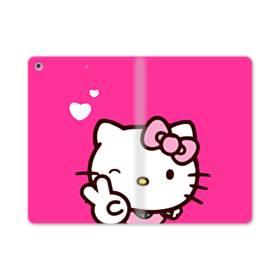 永遠に可愛い!キティちゃん iPad mini (2019) 合皮 手帳型ケース