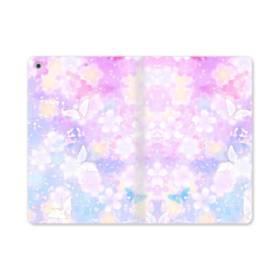 爛漫・抽象的な桜の花 iPad mini (2019) 合皮 手帳型ケース