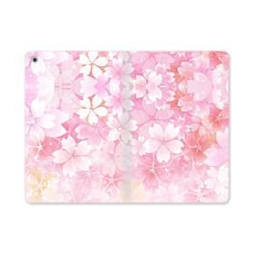 爛漫・ピンク&桜色 iPad mini (2019) 合皮 手帳型ケース