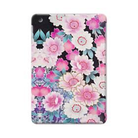 和の花柄 iPad mini 4 ポリカーボネート ハードケース