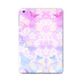 爛漫・抽象的な桜の花 iPad mini 4 ポリカーボネート ハードケース
