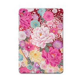 和の花柄:牡丹 iPad mini 4 ポリカーボネート ハードケース