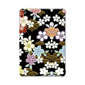 和風・桜&浪 iPad mini 4 ポリカーボネート ハードケース