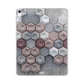 つぶつぶ六角形 iPad Pro 11.0 (2018) TPU クリアケース