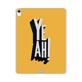 デザイン アルファベット:yeah iPad Pro 11.0 (2018) TPU クリアケース