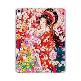 和・花魁&桜 iPad Pro 11.0 (2018) TPU クリアケース