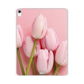 ピンク&ピンク iPad Pro 11.0 (2018) TPU クリアケース