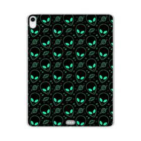 宇宙人&UFOのモチーフ iPad Pro 11.0 (2018) TPU クリアケース