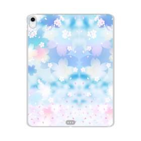 爛漫桜の花 iPad Pro 11.0 (2018) TPU クリアケース