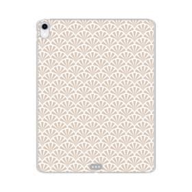 デザイン・和のパターン iPad Pro 11.0 (2018) TPU クリアケース