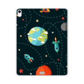宇宙モチーフ iPad Pro 11.0 (2018) TPU クリアケース