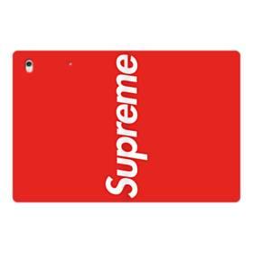 ニューヨークより赤のシュプリーム(super me) iPad Pro 12.9 (2017) 合皮 手帳型ケース