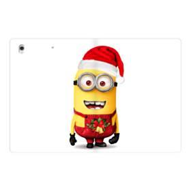 メリー クリスマス キュートなミニオンズ iPad Pro 12.9 (2017) 合皮 手帳型ケース
