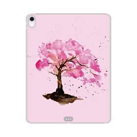 水彩画・桜の木 iPad Pro 12.9 (2018) TPU クリアケース