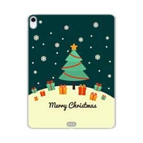 メリー クリスマス ツリー&プレゼント iPad Pro 12.9 (2018) TPU クリアケース