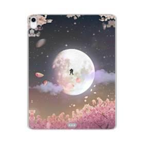 爛漫・夜桜&私たち iPad Pro 12.9 (2018) TPU クリアケース