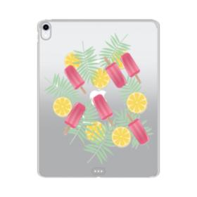 アイスバー&レモン iPad Pro 12.9 (2018) TPU クリアケース
