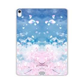 桜の花びら iPad Pro 12.9 (2018) TPU クリアケース
