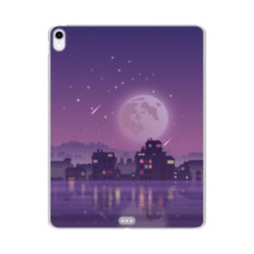 静かな夜 iPad Pro 12.9 (2018) TPU クリアケース