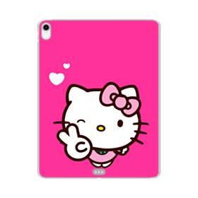 永遠に可愛い!キティちゃん iPad Pro 12.9 (2018) TPU クリアケース