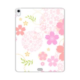 桜の形・いろいろ iPad Pro 12.9 (2018) TPU クリアケース