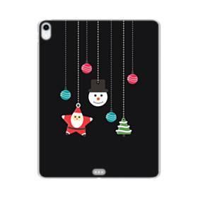メリー クリスマス デザイン・アクセサリー iPad Pro 12.9 (2018) TPU クリアケース
