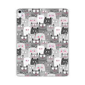 多くの子猫 iPad Pro 12.9 (2018) TPU クリアケース