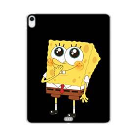 可愛いスポンジボブ iPad Pro 12.9 (2018) TPU クリアケース