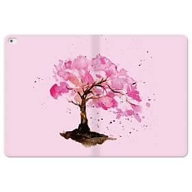 水彩画・桜の木 iPad Pro 12.9 (2015) 合皮 手帳型ケース