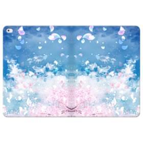 桜の花びら iPad Pro 12.9 (2015) 合皮 手帳型ケース